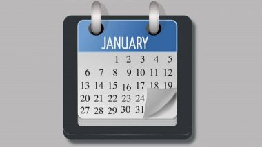 January 2020 Festivals, Events and Holiday Calendar: मकर संक्रांती, प्रजासत्ताक दिन, गणेश जयंती सहित 'हे' आहेत जानेवारी महिन्यातील खास दिवस; जाणून घ्या तारीख, वार