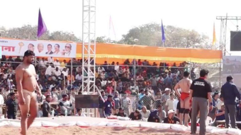 Maharashtra Kesari Kusti 2018: महाराष्ट्र केसरी स्पर्धेदरम्यान गोंधळ, काका पवार तालमीचा स्पर्धेवर बहिष्कार