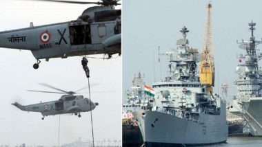 पाकिस्तानचा 'समुद्री जिहाद' कट, भारतीय नौदल हाय अलर्टवर, उपप्रमुख मुरलीधर पवार यांची माहिती