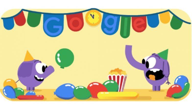 New Year's Eve 2018 Google doodle : गूगल डूडलवरही 31 डिसेंबर 2018 च्या नाईट्चं खास सेलिब्रेशन!