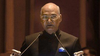 पोक्सोअंतर्गत दोषींना दया नकोच- रामनाथ कोविंद