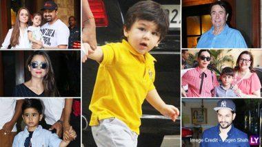 मुंबईत रंगली तैमूर अली खानची Pre Birthday Party ! (Photos)