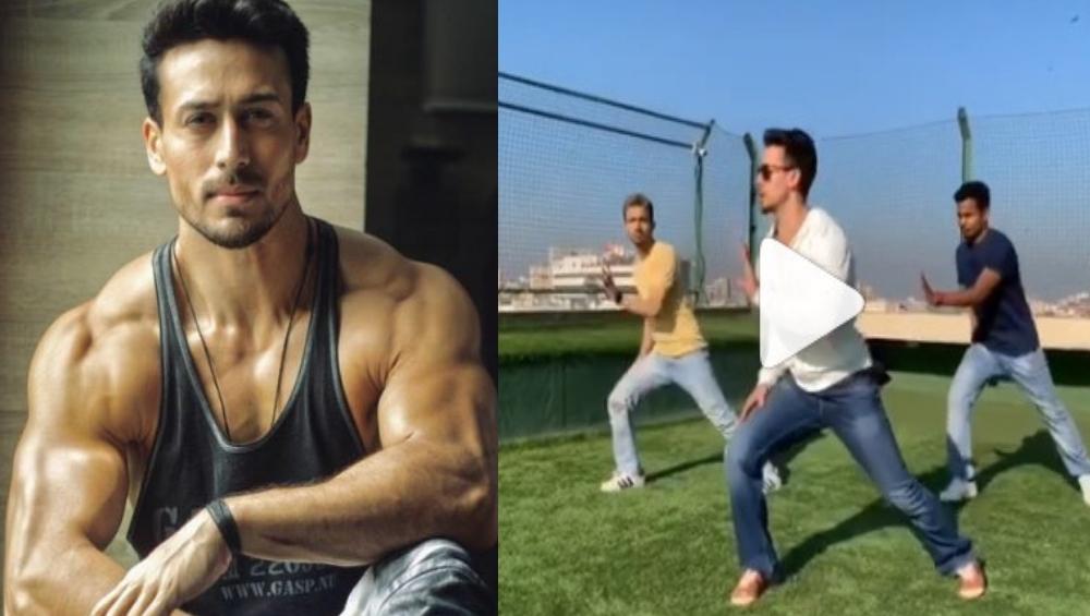 Tiger Shroff चा 'दिलबर' गाण्यावर हटके डान्स  (Video)