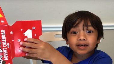 YouTube च्या माध्यमातून सर्वाधिक कमाई करणाऱ्यांमध्ये 8 वर्षांचा मुलगा अव्वल; व्हिडीओज बनवून कमावले तब्बल 155 कोटी