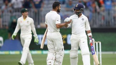 India Vs Australia 2nd Test : विराटच्या विक्रमी शतकानंतरही भारतीय संघ 283 धावांवर बाद