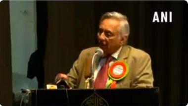 राम मंदिरावर काँग्रेस नेते मणिशंकर अय्यर यांचे वादग्रस्त विधान (Video)