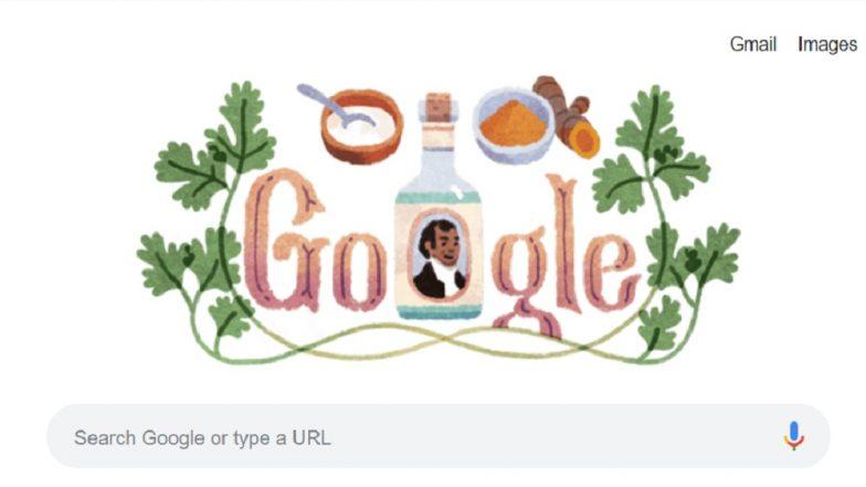 Google ने  Doodle साकारत जागवल्या सर्जन, उद्योजक, लेखक शेक दीन मोहम्मद यांच्या स्मृती!