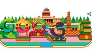 70th Republic Day of India: Doodle च्या माध्यमातून Google ने साजरा केला भारताचा प्रजासत्ताक दिन