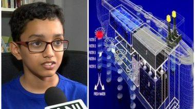 शाब्बास रे पठ्ठ्या, पुणेकर काहीही करु शकतात! 12 वर्षीय हाजीक काझी याने लावला समुद्रातील प्लास्टिक काढण्याचा शोध