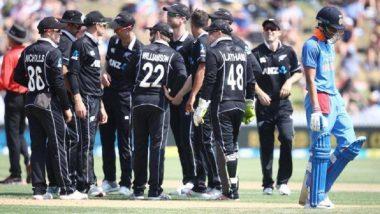 India Vs New Zealand 4th ODI: न्युझीलंड विरुद्ध भारत चौथ्या एकदिवसीय सामन्यात भारताचा दारुण पराभव; 8 विकेट्सने केली मात