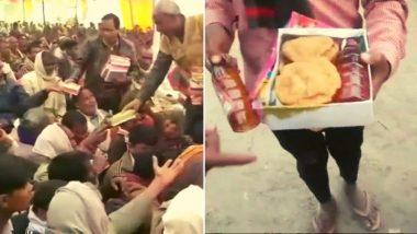 मंदिरातील कार्यक्रमात खाद्यपदार्थांसोबत दारुच्या बाटल्यांची सोय, भाजप नेत्याचा संतप्त प्रकार उघडकीस