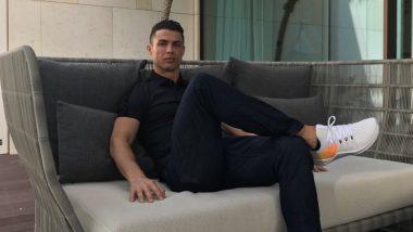 फुटबॉलपटू Cristiano Ronaldo च्या पुतळ्याजवळ विचित्र पद्धतीने काढले जातायत फोटो, सोशल मीडियावर हस्याचा वर्षाव