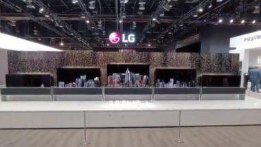 CES 2019 : LG कंपनी लवकरच लाँन्च करणार फोल्डेबल टीव्ही