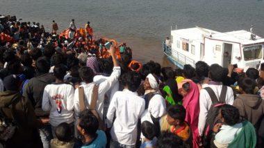 नर्मदा नदीत बोट उलटून सहा जणांचा मृत्यू, 36 जणांची प्रकृती गंभीर