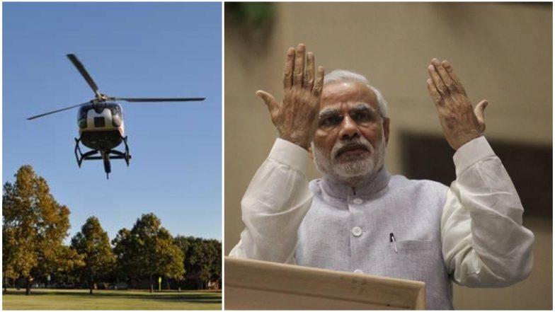 पंतप्रधान मोदी यांचे हेलिकॉप्टर लँड करण्यासाठी कायदा धाब्यावर, 1000 झाडांची बेकायदा कत्तल करुन हेलिपॅड निर्मिती