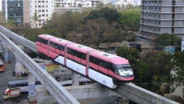 मुंबई: वाशी नाका परिसरात तांत्रिक बिघाडामुळे मोनोरेलची वाहतूक ठप्प