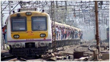 तांत्रिक बिघाडामुळे मुंबई मध्य रेल्वेची वाहतूक विस्कळीत