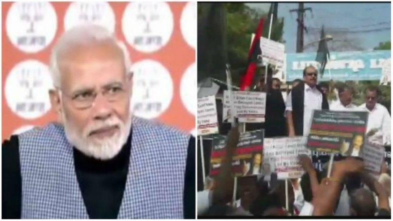 पंतप्रधानांच्या तामिळनाडू दौऱ्याविरुद्ध सोशल मिडियावर आंदोलन; #GoBackModi हॅशटॅग ट्रेंडमध्ये