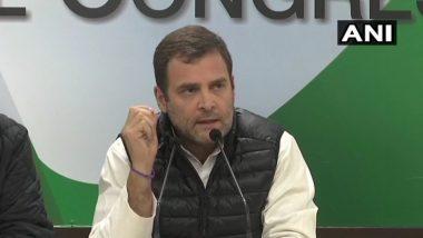 फक्त 20 मनिटे आमनेसामने चर्चा करा; राफेल मुद्द्यावरुन राहुल गांधी यांचे पंतप्रधान मोदी यांना आव्हान