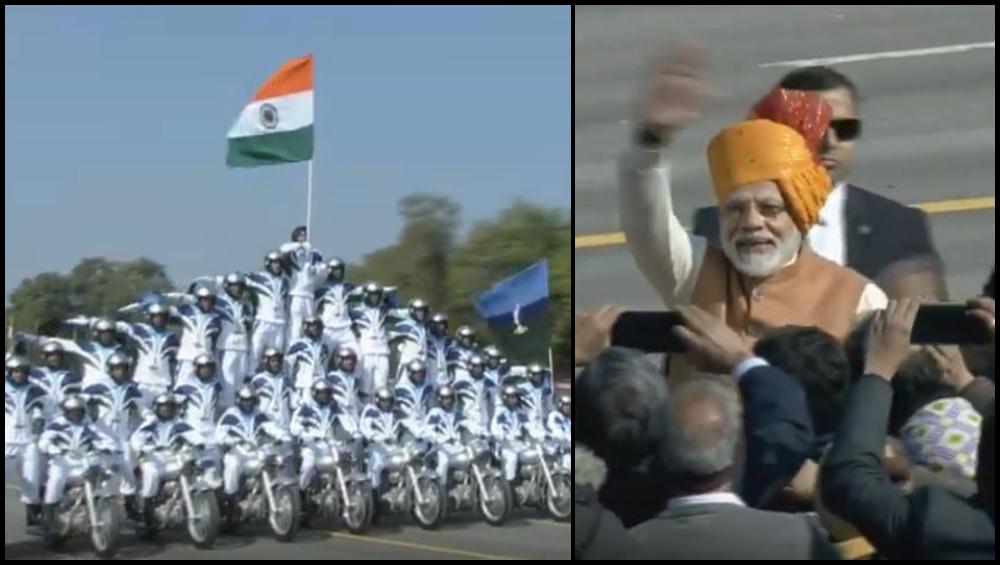 70th Republic Day: राजधानीत दिल्लीत कडेकोट बंदोबस्त, राजपथावर संचलन, भारताच्या लष्करी सामर्थ्याचे जगाला दर्शन