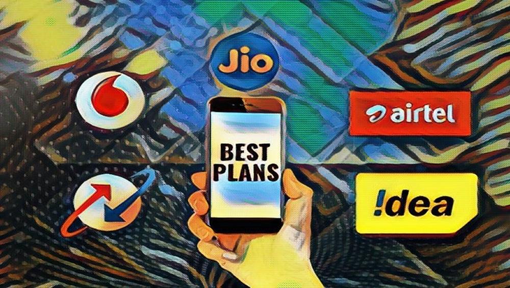 Reliance Jio, एअरटेल, वोडाफोन कंपन्यांचे प्रत्येक महिन्यासाठी 84GB पर्यंत डेटा असणारे बेस्ट प्लॅन जाणून घ्या