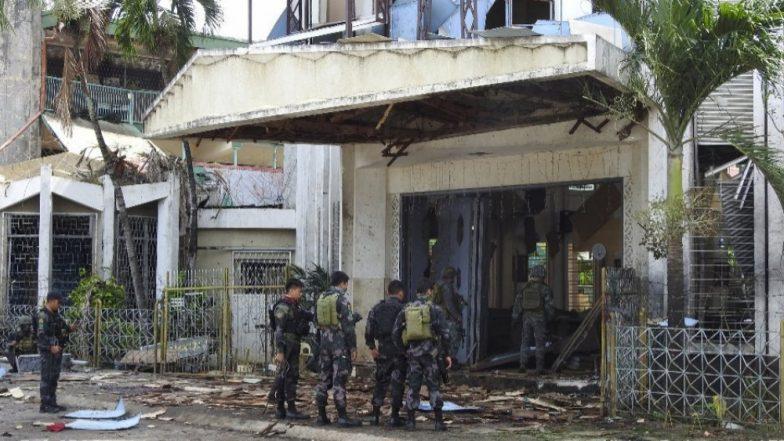 फिलिपिन्स येथे दशहतवाद्यांचा धुमाकूळ, चर्चमध्ये घडवलेल्या बॉम्बस्फोटात 18 जणांचा मृत्यू