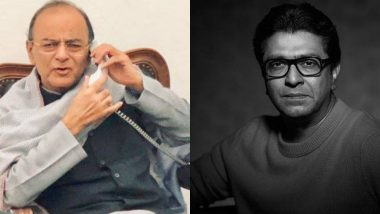 'लवकर बरे व्हा' - अरूण जेटली यांच्या प्रकृतीवर Raj Thackeray चं ट्विट!