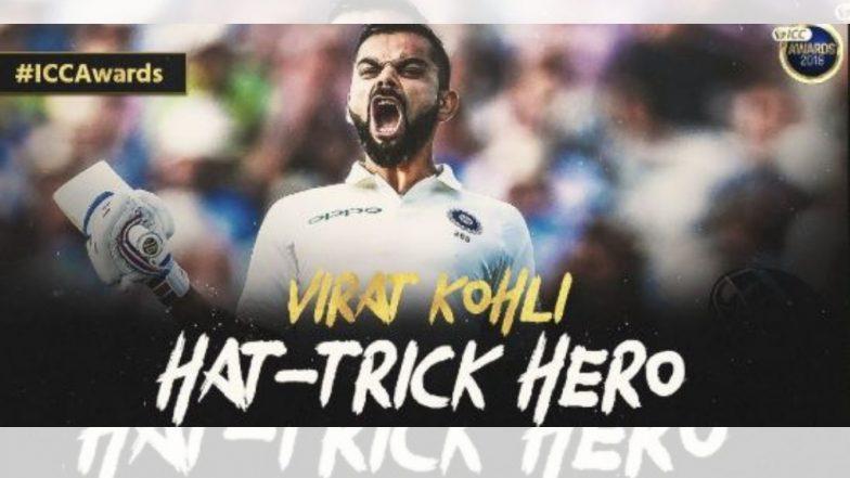 ICC Cricket Awards 2018: 'विराट कोहली' वर पुरस्कारांचीही बरसात! क्रिकेट विश्वातील मानाच्या 3 पुरस्कारांनी विराटचा गौरव