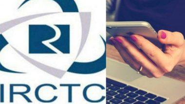IRCTC ची ऑनलाईन सेवा आज 6 तास राहणार ठप्प,  तिकीट बुकिंग, तिकीट रद्द करणं होणार कठीण