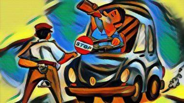 Happy New Year: मुंबई वाहतूक पोलिसांनी दारुड्या चालकांची उतरवली, 455 जणांवर दडात्मक करवाई, काहींची ड्रायव्हिंग लायसन्स जप्त