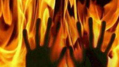 गोरखपूर येथे हुंड्यासाठी सुनेला जिवंत जाळले, घटनेचा थरार सीसीटीव्हीत कैद (Video)