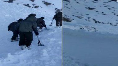 जम्मू-कश्मीर: लडाखमध्ये झालेल्या तुफान बर्फवृष्टीत 10 लोक अडकले; सर्च ऑपरेशन सुरु