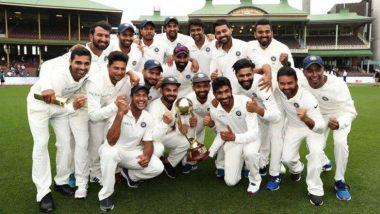 ऑस्ट्रेलियात कसोटी मालिकेत ऐतिहसिक कामगिरी केल्याबद्दल भारतीय खेळाडूंवर लाखो रुपयाच्या बक्षिसांची BCCI कडून बरसात