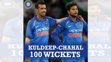 India Vs New Zealand 3rd ODI: कुलदीप यादव आणि युजवेंद्र चहल यांच्या फिरकीची कमाल; 100 विकेट्सचा विक्रम