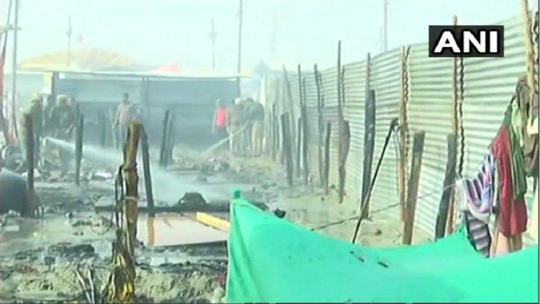 Kumbh Mela 2019 : प्रयागराज येथे दोन सिलेंडरच्या स्फोटामुळे भीषण आग