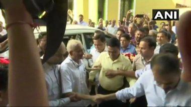 गोवा मुख्यमंत्री मनोहर पर्रिकर यांची नवं वर्षाच्या पहिल्या दिवशी मंत्रालयात हजेरी
