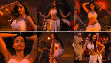 'नोरा फतेही'चा मल्याळम गाण्यातील बोल्ड डान्स पाहून व्हाल दंग! (Video)