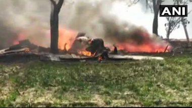 युपी येथे वायुसेनेच्या लढाऊ विमानाला अपघात, न्यायालयाकडून तपासणी करण्याचे आदेश