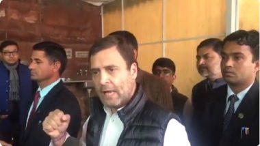 राफेल डील: अरुण जेटली यांनी मला शिवी दिली, प्रश्नाचे उत्तर नाही: राहुल गांधी (व्हिडिओ)