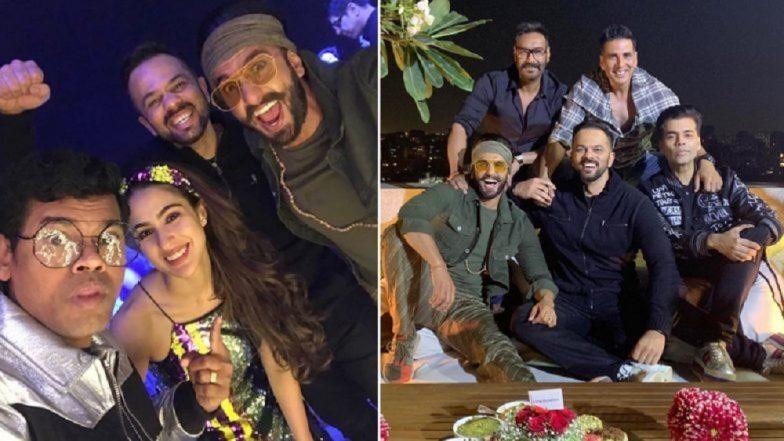 Simmba Success Party: रणवीर सिंग-सारा अली खान यांच्यासह इतर सेलिब्रेटींची पार्टीत धूम; पाहा फोटोज (Photos)