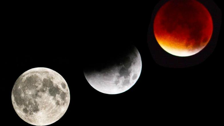Chandra Grahan 2019 : नववर्षातलं आज पहिलं खग्रास चंद्रग्रहण! भारतामध्ये 'इथे' पहायला मिळणार आजचं चंद्रग्रहण LIVE