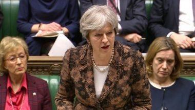 थेरेसा मे यांचा Brexit करार ब्रिटन संसदेत अमान्य