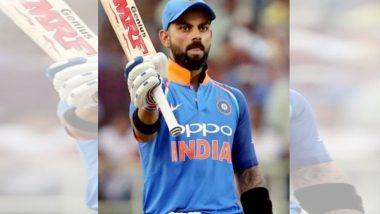 India Vs New Zealand 1st ODI: विजयानंतर विराट कोहलीने मैदानातच असा व्यक्त केला आनंद (Video)