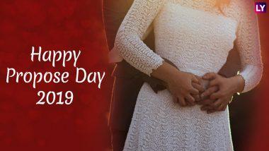 Happy Propose Day 2019:  'हॅपी प्रपोझ डे' च्या शुभेच्छा देण्यासाठी मराठमोळे Facebook, WhatsApp Status, SMS, Greetings, GIF Images शेअर करून बिनधास्त करा 'प्रपोझ'!