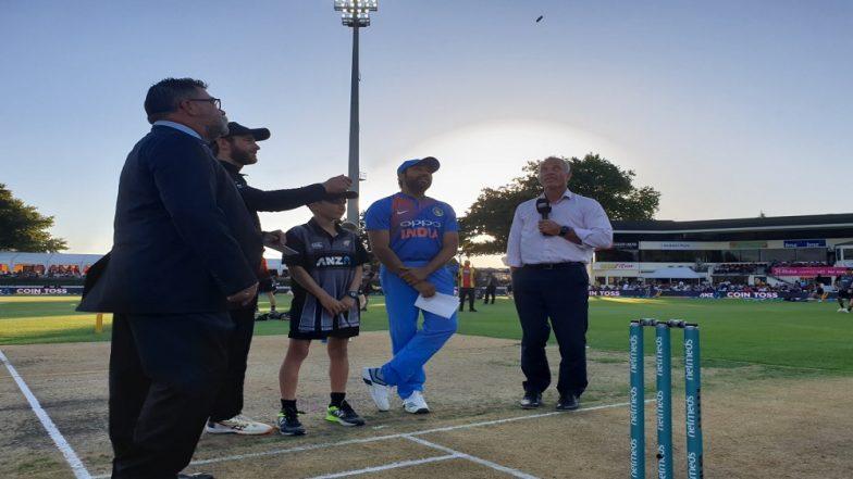India vs New Zealand 3rd T20I: न्युझीलंड विरुद्ध भारत तिसऱ्या T20 सामन्यात टॉस जिंकत भारताचा प्रथम गोलंदाजीचा निर्णय