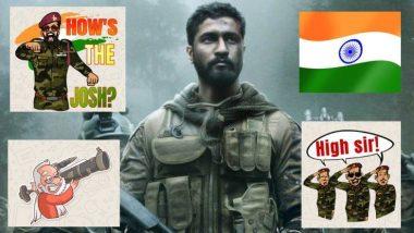 Surgical Strike 2 चा आनंद सेलिब्रेट करण्यासाठी भारतीय देशभक्तांसाठी खास How's the Josh, Jai Hind, Narendra Modi Patriotic WhatsApp Stickers & GIFs