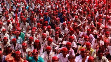सरकारसोबतची चर्चा निष्फळ; किसान सभेच्या लाँग मार्चला सुरुवात, 28 तारखेला मुंबईत धडकणार 'लाल वादळ'