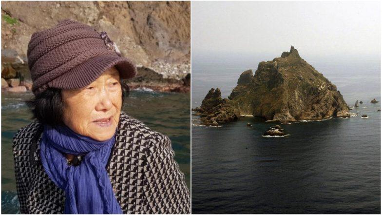 Dokdo Islands: दक्षिण कोरिया-जपान यांच्यातील वादग्रस्त बेटावर एकटीच राहते ८१ वर्षांची महिला