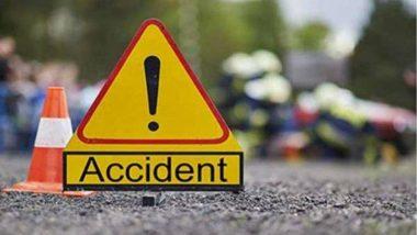 Mumbai-Pune Expressway वर भीषण अपघात; दोन ठार, तर एक गंभीर जखमी (See Photo)