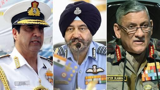 भारतीय लष्कर,वायुसेना आणि नौसेना आज 5 वाजता संयुक्त पत्रकार परिषद घेणार